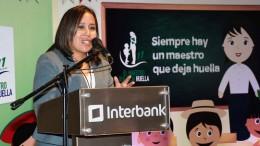 Ganadora del consurso Interbank