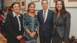 Rosario Almenara (Vicepresidente LHH DBM, Jimena Mendoza (Directora Ejecutiva LHH DBM), Carlos San Román (Gerente General LHH DBM, Inés Temple (Presidente Ejecutivo LHH DBM)